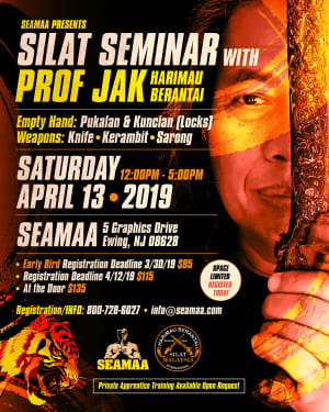 SILAT SEMINAR with PROF JAK