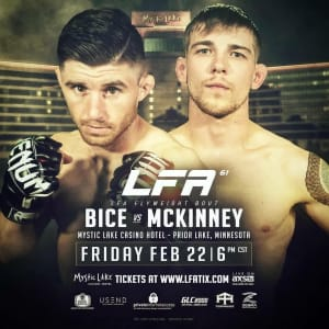 FIGHT WEEK FOR SID BICE!