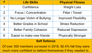 in Tring - Tring Martial Arts - Introduction to Training at Tring Martial Arts Part 8 - Annual Student Survey Results