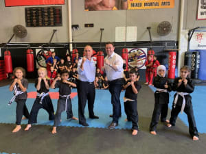 in Prestons and Liverpool - IMC Liverpool - Sports Minister Visit