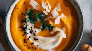 Recipe of the Week: Healing Carrot Soup with Turmeric and Ginger