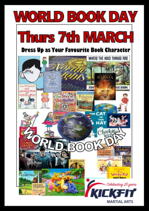 in Slough - KickFit Martial Arts Slough - World Book Day 7th March