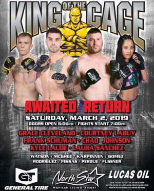 FIGHT WEEK FOR GRACE CLEVELAND AND RANDY ROWLAND!