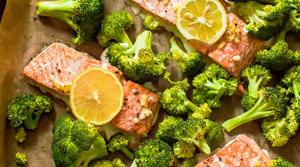 Recipe of the Week: One Sheet Roasted Garlic Salmon and Broccoli