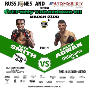 NATE SMITH FIGHT DETAILS:
