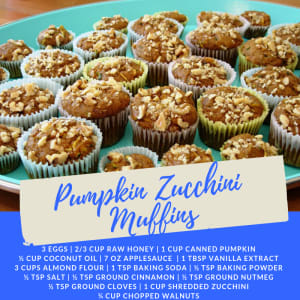 Recipe of the Week: Pumpkin Zucchini Muffins