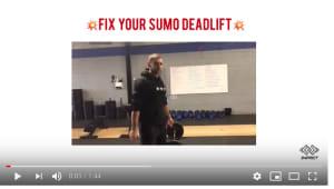 Fix your...SUMO DEADLIFT