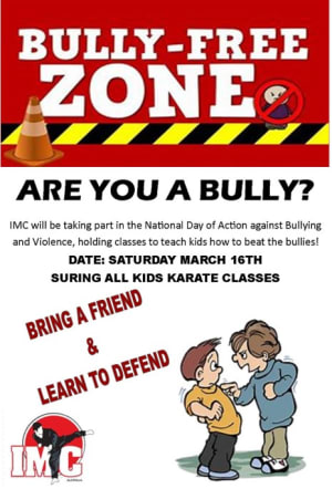 in Prestons and Liverpool - IMC Liverpool - National Anti-Bully Day Blog: How You Can Create Confident & Bullyproof Kids