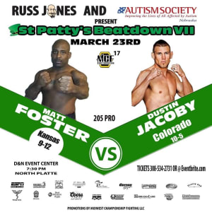 DUSTIN JACOBY FIGHT ANNOUNCEMENT!