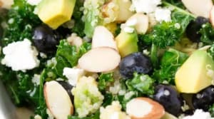 Recipe of the Week: Kale Quinoa Salad with Blueberries