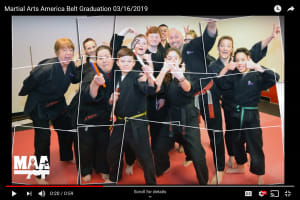 MAA Belt Graduations 03/16/2019