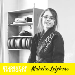 Student of the Month - Mahélie Lefèbvre