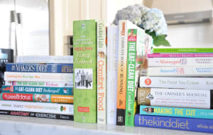 Have you ever noticed how many diet books there are in the book shops these days?