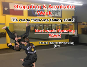 Grappling and Acrobatic Week!