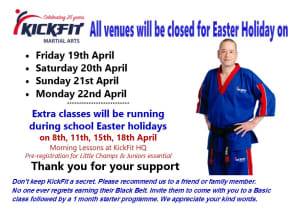 Easter Bank Holiday Closure