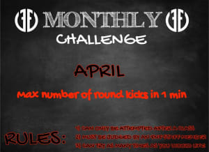 Monthly Challenge - April