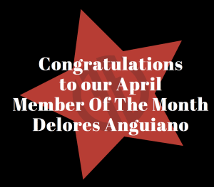 April Member Of The Month - Delores