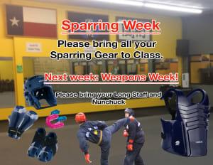 Sparring Week!