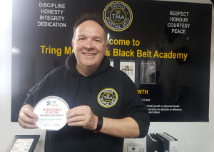 in Tring - Tring Martial Arts - Micro Business of the Year 2019