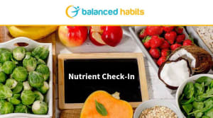 Nutrient Check In   |    Nutrition Coaching Huntington Beach