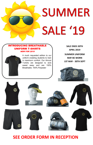 in Tring - Tring Martial Arts - Summer Sale 2019
