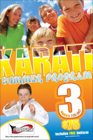 Kick into our Summer Camp