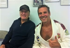 Old Dog Robert Duvall with New BJJ Tricks