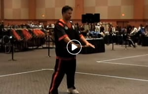 Hanshi Serrano winning Gold for Team USA at the Eskrima World Championships
