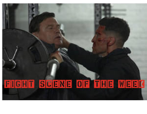 Fight Scene of the Week! Punisher Season 2 (Gym Fight)