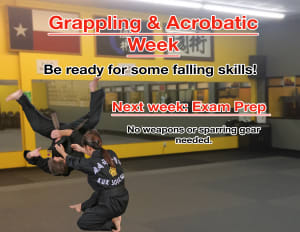 Grappling & Acrobatics Week!