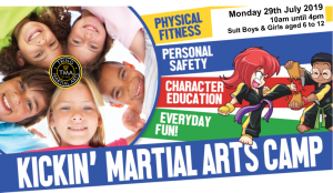 Martial Art Summer Camps - Now available for booking