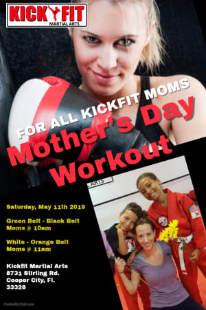 Mother's Day Workout for Cooper City Moms