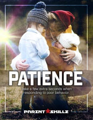 Patience: Take A Moment So Your Child Can Learn