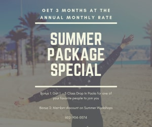 Self Defense Summer Package