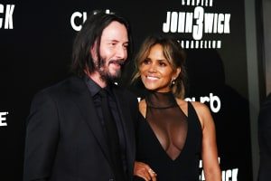 Halle joins Keanu training Jiu Jitsu for John Wick 3