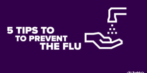 5 Tips to help prevent the Flu