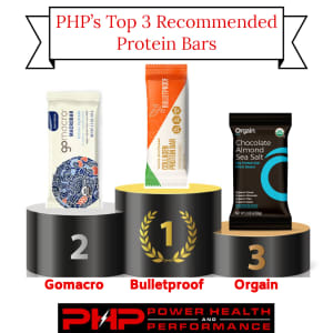 PHP's Top 3 Protein Bar Recommendations