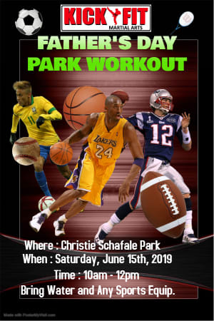 Father's Day Workout for Kids in Cooper City / Davie / Pembroke Pines / Miramar