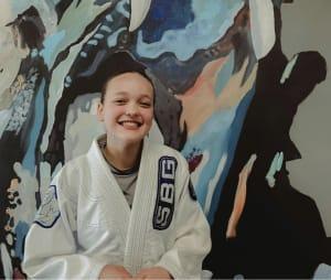 Adiah Schlott is June's Kids Martial Artist of the Month