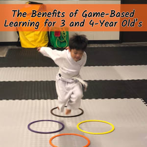 The Benefits of Game Based Learning for 3-4 year-olds