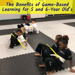 The Benefits of Game Based Learning for 5-6 year-olds