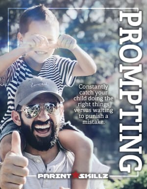 Prompting - Catch Your Children Doing Things Right
