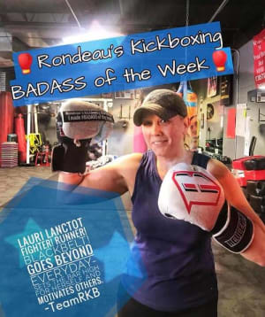 Rondeau's Kickboxing BadAss of the Week - Laurie