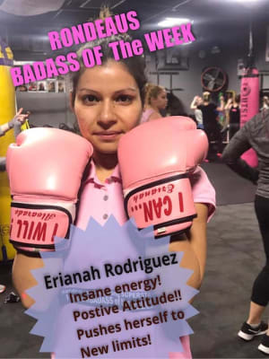 Rondeau's Kickboxing BadAss of the Week - Erianah