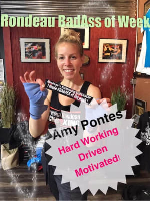 Rondeau's Kickboxing BadAss of the Week - Amy