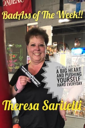 Rondeau's Kickboxing BadAss of the Week - Theresa