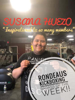 Rondeau's Kickboxing BadAss of the Week - Susana
