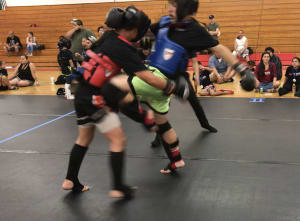 United States Muay Thai Federation (YDL) Youth Development League Event. Fairfield High school. 6-8-19