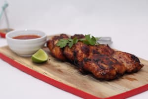 Blackened Chicken with Avocado Cream