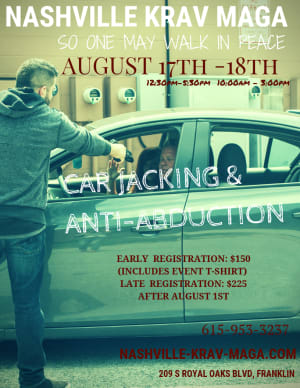 Car Jacking & Anti-Abduction Seminar